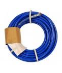 Шланг высокого давления для краски 15 м. 1/4 синий (17200040-15)