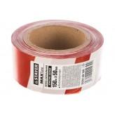 Сигнальная лента STAYER Master, цвет красно-белый, 50мм х 15..