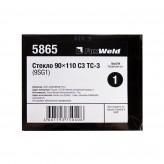 FOXWELD СТЕКЛО 90 Х 110 С3 ТС-3 (9SG1) 5865